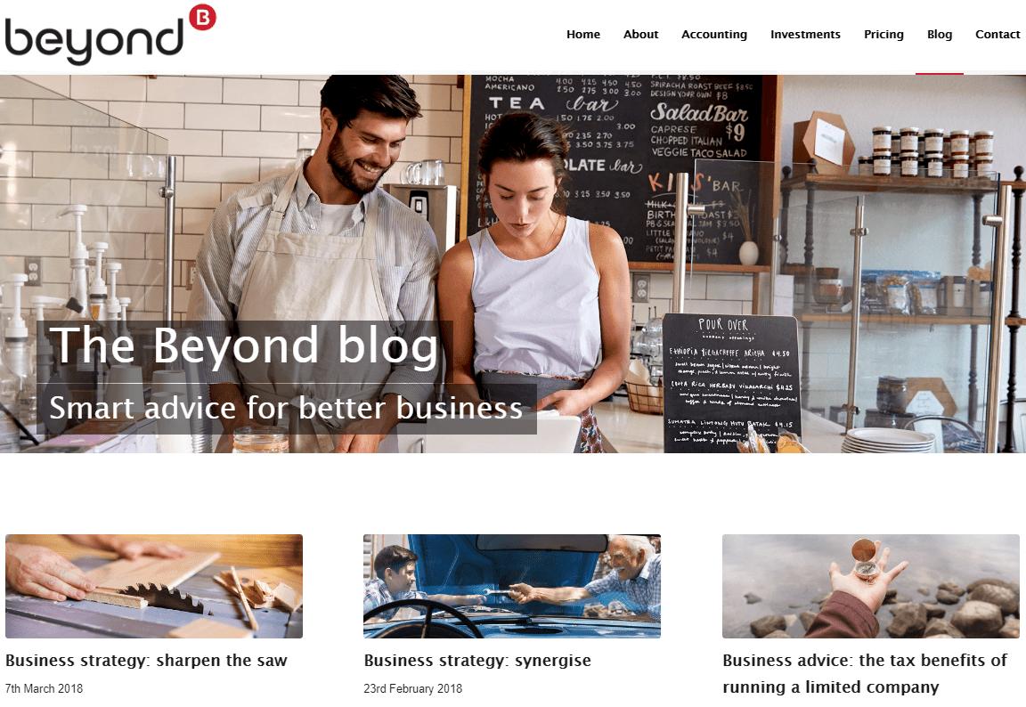 Beyond Dublin content marketing strategy