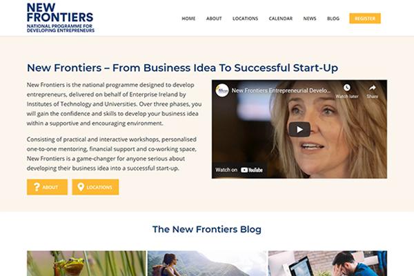 enterprise ireland website management marketing Engage Content