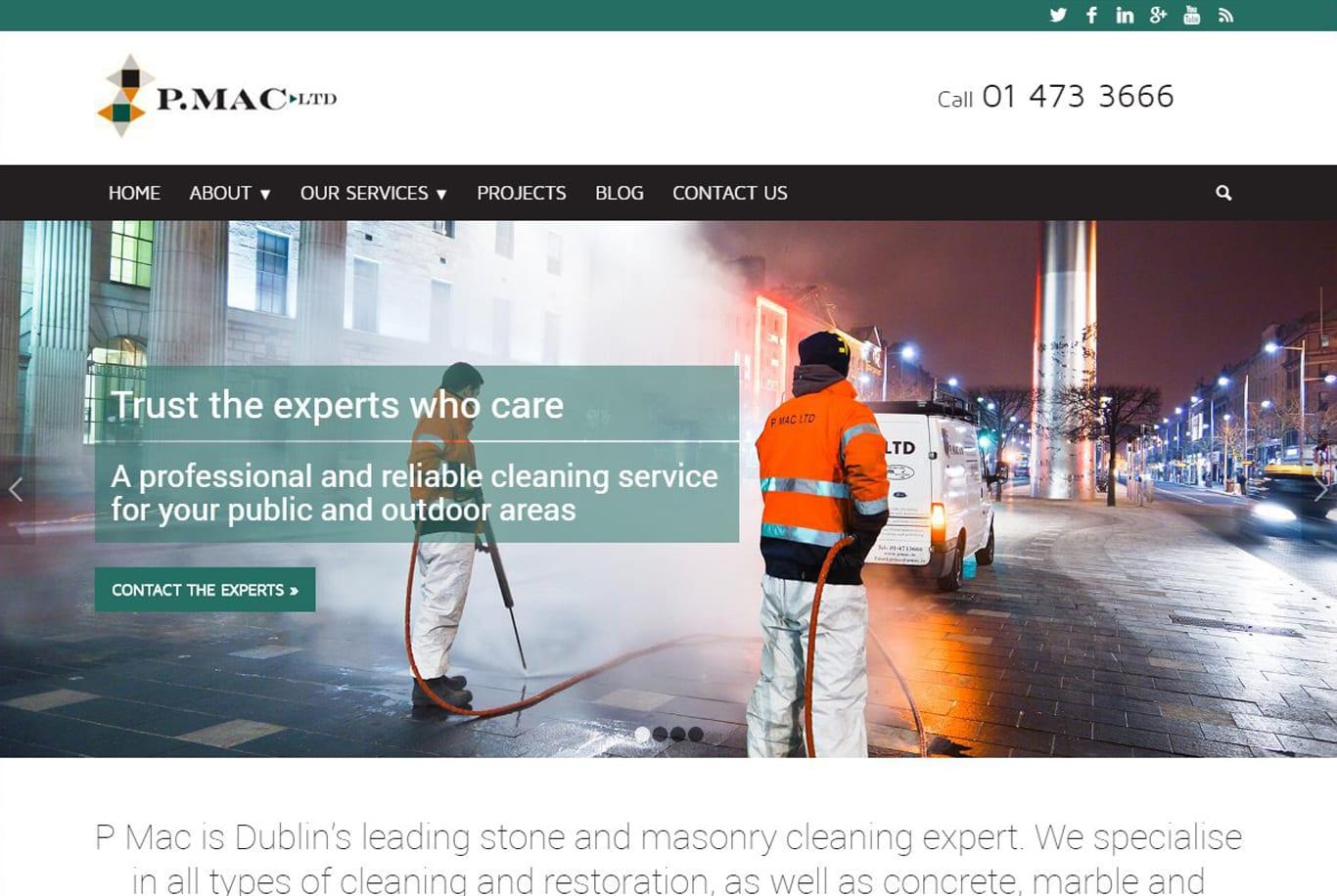Wordpress website creation Dublin Engage Content