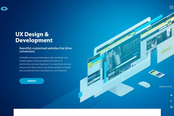 MadBit website texts Engage Content Marketing