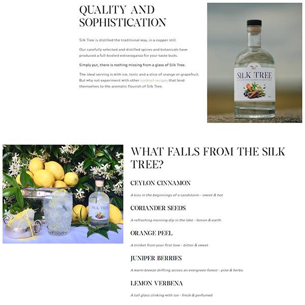 creative copywriting for an Irish drinks brand Engage Content Marketing Agency Dublin